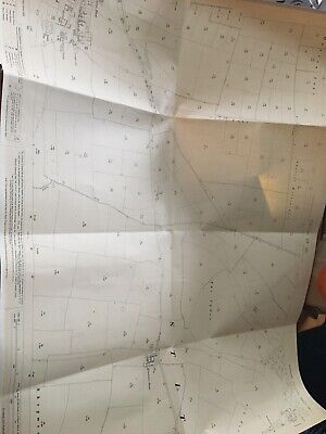 1911 Ordnance Survey Map Plan Sheriff Hutton Carr Church End History FRAMEABLE