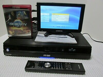 Toshiba HD-XA2 HD-DVD Player with Manual, Remote, Best Player ever