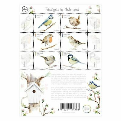 Nederland/The Netherlands - Postfris/MNH - Sheet Birds in The Netherlands 2019