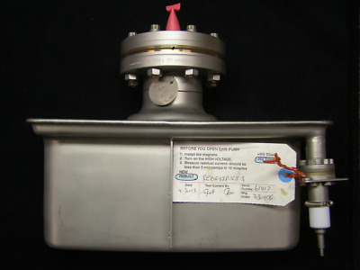 "Duniway Stockroom Rebuilt 55 l/s Starcell Ion Pump Body, 4.50"" Conflat Flange"