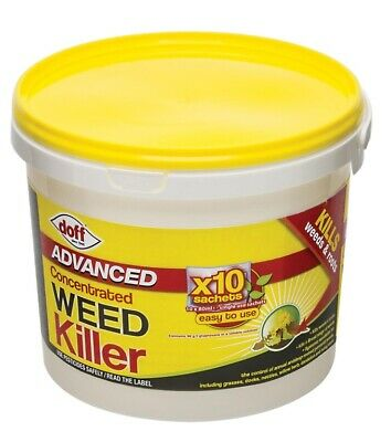 Pack Doff Super Strength Advanced Glyphosate Weedkiller Concentrate sachets