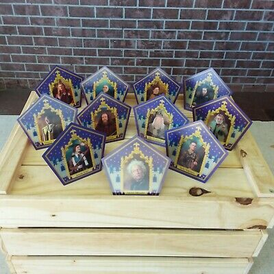 Harry Potter ☆☆☆THE COMPLETE OFFICIAL 11 CARD CHOCOLATE FROG CARD SET☆☆☆