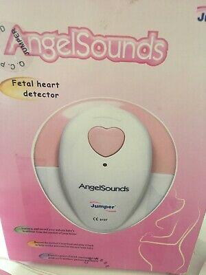 Baby Fetal Doppler Angelsounds Womb Heart Monitor Detector