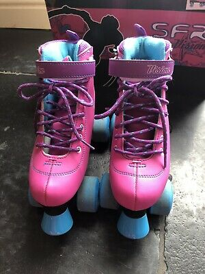 SFR Girls Roller Skates Size UK 3 With Pads