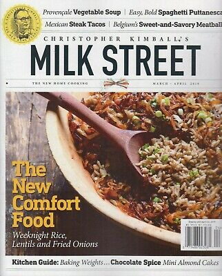 Christopher Kimball's Milk Street March/April 2019 Home Cooking/Recipes