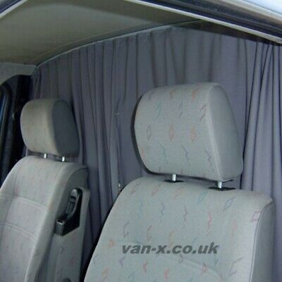 For Fiat Ducato Cab Divider Curtain Kit custom made by Van-X
