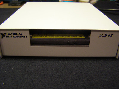 National Instruments SCB-68 Shielded Connector Box, plus 184749, 1835698 Cables!