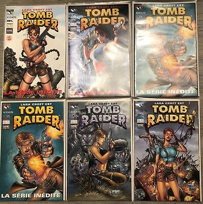 Comics Tomb Raider 5 vol