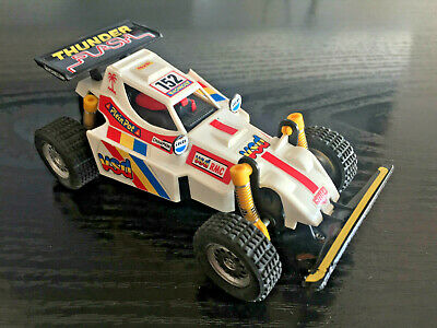 SCALEXTRIC 4x4 RACING SYSTEM BUGGY TT THUNDER FLASH SLOT 1/32 MUY BUSCADO/RARE