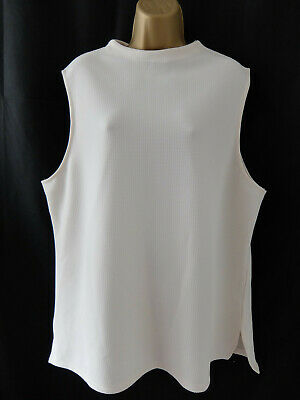 NEW LOOK ● size 18 ● cream ivory white blouse vest top womens ladies
