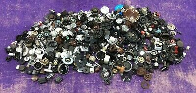 5LBS! Large Assortment of Vintage Knobs Radio Audio Mixed Lot! 5 Pounds!