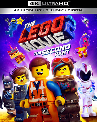 The Lego Movie 2: The Second Part (4K Ultra HD ONLY w/ Case & Slipcover)