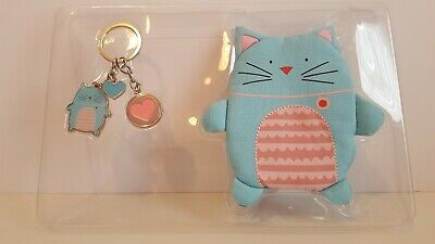 Sainsbury's The Owl and the Pussycat Purse and Keyring Set