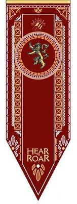 Game Of Thrones Lannister Tournament Banner 150X50 Bandiera Flag Trono Di Spade