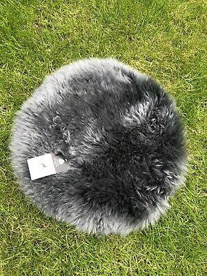 Real Genuine Sheepskin Seat Pad / Roundie 37cm Any Colour!