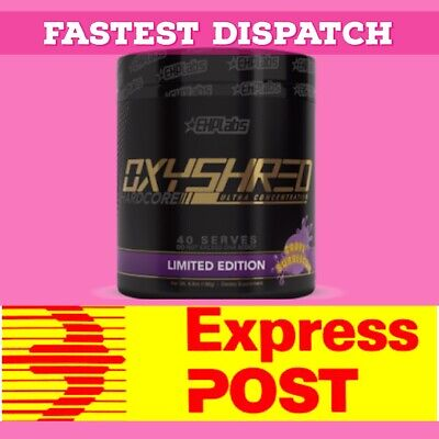 OxyShred Hardcore - Most Potent Thermogenic Fat Burner by EHP Labs.
