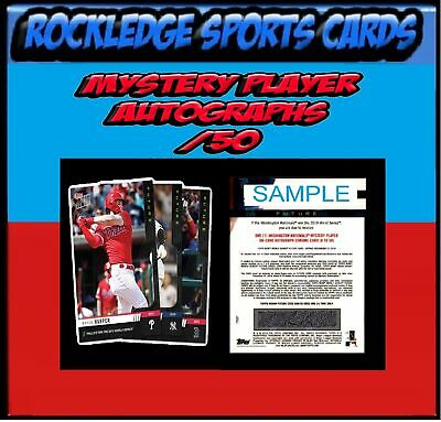 2019 Topps Now Futures World Series Singles (Pick Your Cards) Mystery Auto 50