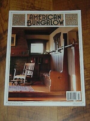 American Bungalow Magazine Roycroft Campus Sears ASHMORE houses Fall 2005 FREE S