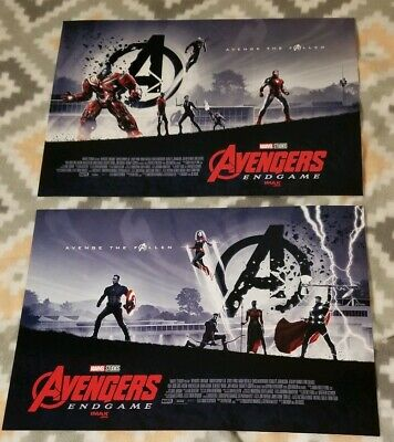 Avengers Endgame AMC Exclusive IMAX  11×15.5 Mini Posters Week 1 and Week 2