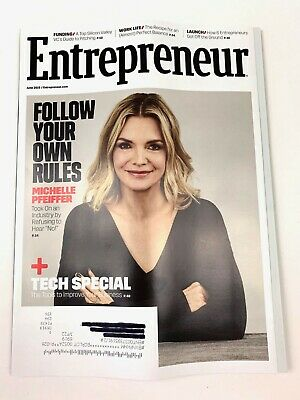 Entrepreneur Magazine - June 2019 - Michelle Pfeiffer NEW