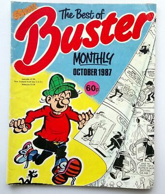 The Best of Buster Monthly October 1987 Collectable Childrens Kids Comic *