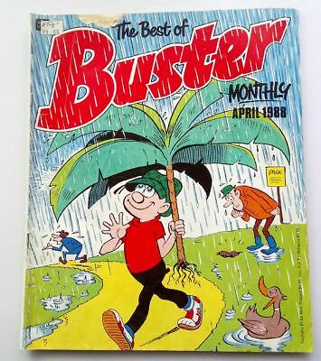 The Best of Buster Monthly April 1988 Collectable Childrens Kids Comic UK *