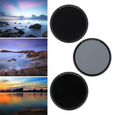 Zomei 58mm/67mm Slim Multi-Coated Glass Filter Neutral Density ND8 ND64 ND1000 T