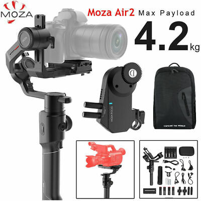 MOZA Air 2 3 Axis Stabilizer DSLR Handheld Gimbal Wireless follow focus 4.2KG TP