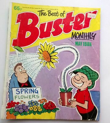 The Best of Buster Monthly May 1988 Collectable Childrens Kids Comic UK *