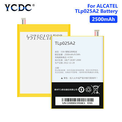 2500Mah Tlp025A1 Tlp025A2 Battery For Alcatel One Touch 7043K 7043Y Pop 2 (5) F