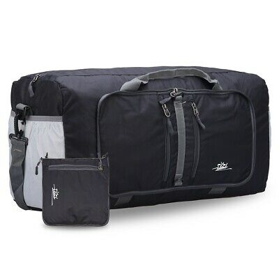 Packable Travel Duffel Bag Tote Carry on Luggage for Weekender Overnight Sports