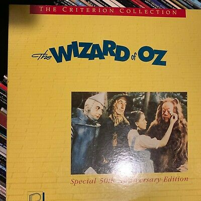 The Wizard Of Oz - Criterion Collection Laserdisc - Buy 6 for free shipping