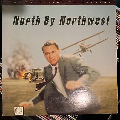 North By Northwest - Criterion Collection Laserdisc - Buy 6 for free shipping