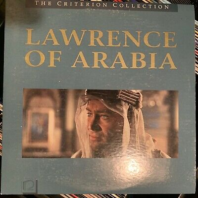 Lawrence Of Arabia - Criterion Collection Laserdisc - Buy 6 for free shipping