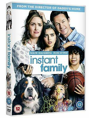 INSTANT FAMILY (2018): Mark Wahlberg, Rose Byrne, Comedy - NEW Eu Rg2 DVD not US