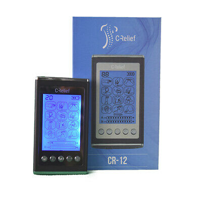 Tens Unit 12 Modes Crelief CR12 NEW