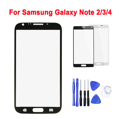 OEM Front Outer Touch Screen Glass Lens Replace For Samsung Galaxy Note 2 3 4