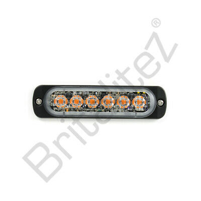 Britalitez Dual Colour Extra Thin LED Warning Lamp Grille/Directional Light