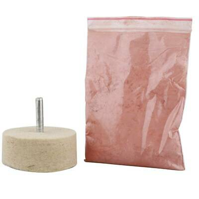 100g Glass Mirrors Composite Polishing Oxide Powder Cerium with Polishing Wheel