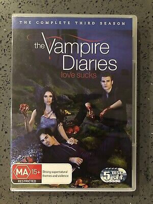 Vampire Diaries : Season 3 (DVD, 2012, 5-Disc Set)