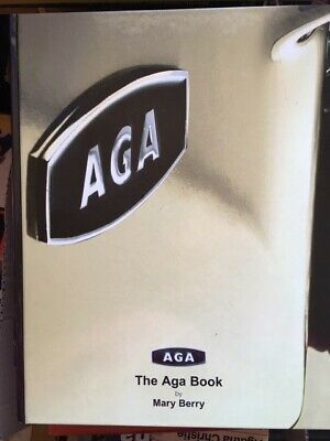 The Aga Book By Mary Berry - Blank Owners Page  - Almost As New