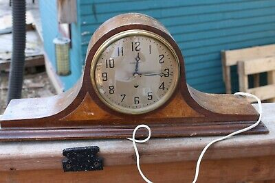Vintage Hammond Mantle Clock Original Authentic Piece Fireplace 1933