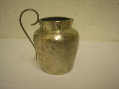 Solid Silver Cream Jug, hall marked