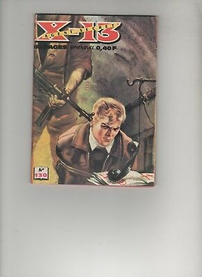 BD X-13 AGENT SECRET N°130 Le fugitif 1966 EDITIONS : IMPERIA