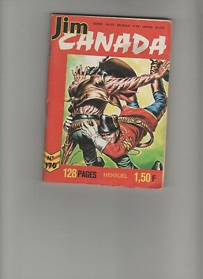BD JIM CANADA N°170 Dette de courage 1972 Editions IMPERIA