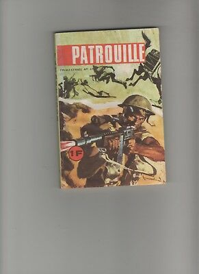 BD PATROUILLE N°11 Le vieux destroyer 1969  EDITIONS : EDI EUROPE