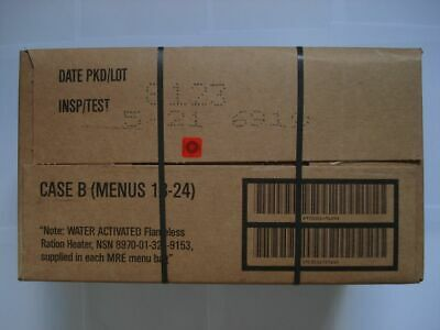 US Army MRE EPA Karton B, Insp. Date 05/21,Verpflegung, Ready to eat