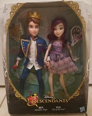 Disney Descendants 2 Dolls Ben Mal Isle Of The Lost Auradon Prep New NIB