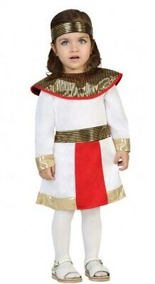 Baby Girls Egyptian Cleopatra World Book Day Carnival Fancy Dress Costume Outfit
