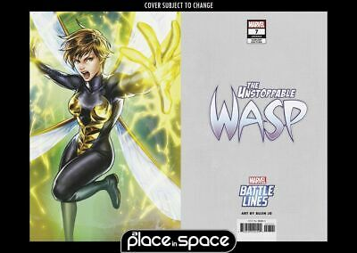 The Unstoppable Wasp, Vol. 2 #7B - Battle Lines Variant (Wk19)